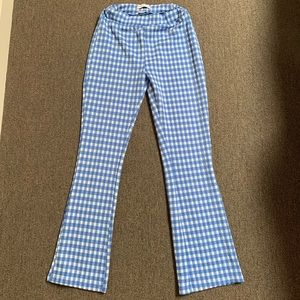 URban outfitters checkered stretchy pants